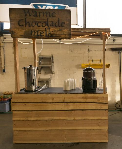 Chocolademelkkraam huren in regio Den Bosch